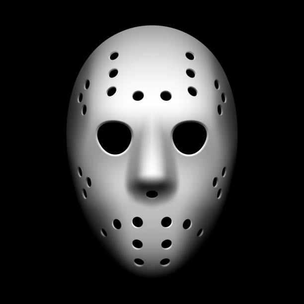 ilustraciones, imágenes clip art, dibujos animados e iconos de stock de máscara de hockey - hockey