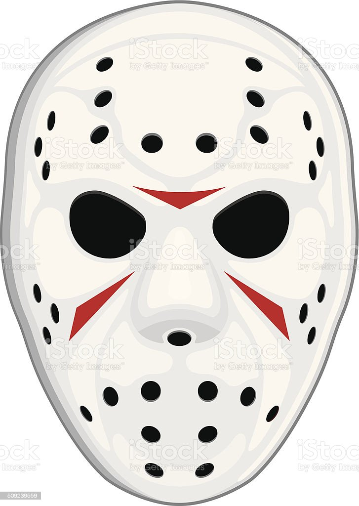 Hockey Mask Stock Vector Art Amp More Images Of Face Guard