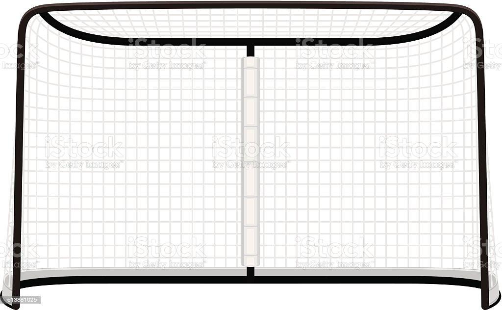 Hockey Net vector art illustration
