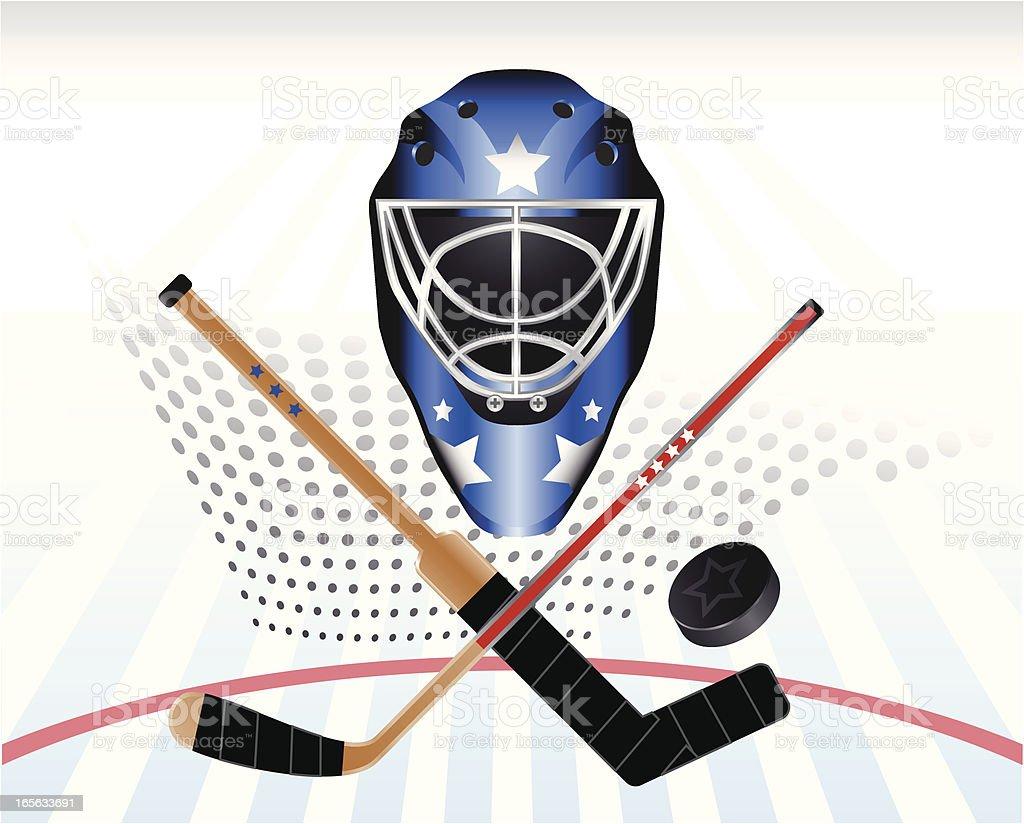 Hockey Power royalty-free stock vector art