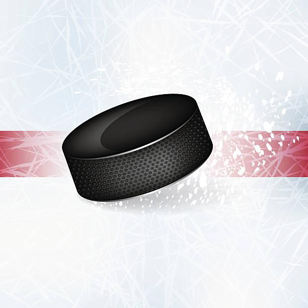 ilustraciones, imágenes clip art, dibujos animados e iconos de stock de disco en el hielo. - hockey