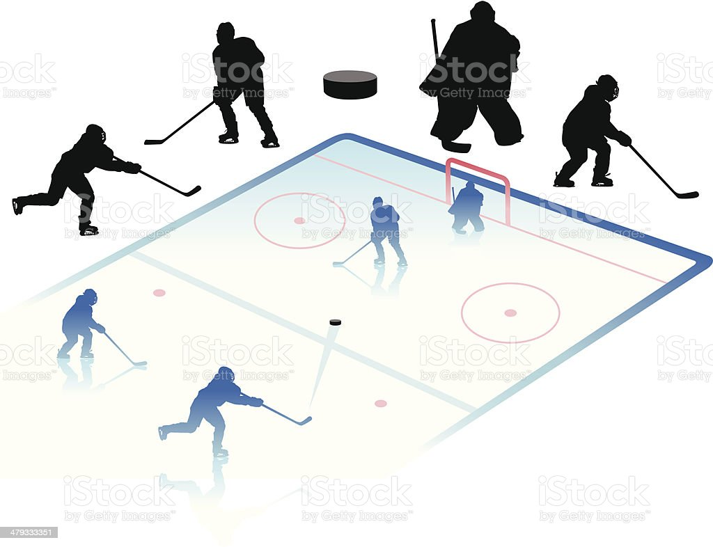 Hockey royalty-free hockey stock vector art & more images of adult
