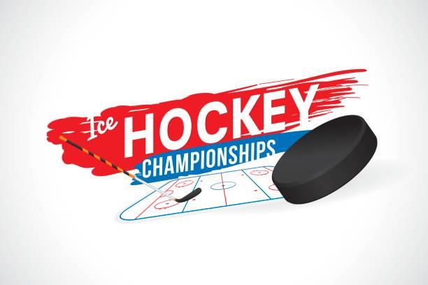 ilustraciones, imágenes clip art, dibujos animados e iconos de stock de de hockey - hockey