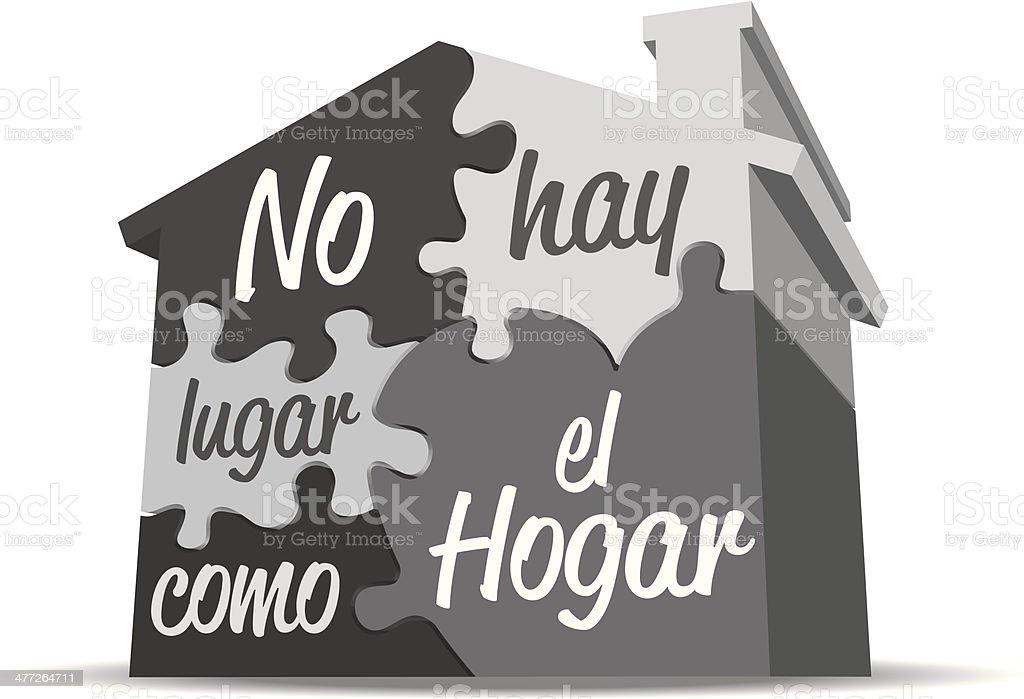 Hogar Heading royalty-free stock vector art