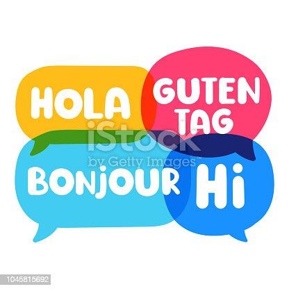 Bilingual.
