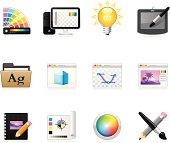 Design Studio and Graphic design / Hola icons / Set 21