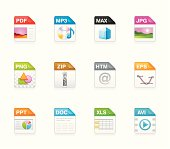 Hola icons - File extensions