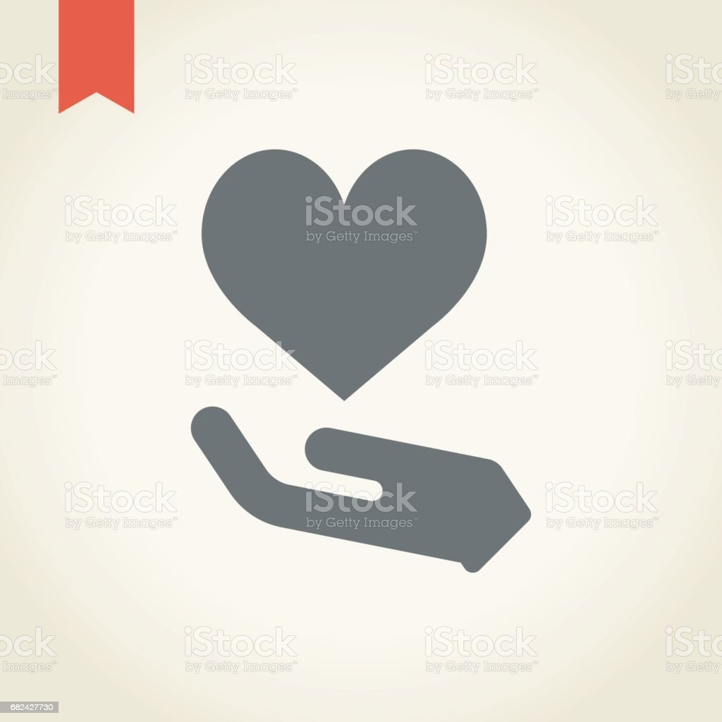 Holding heart icon royalty-free holding heart icon stock vector art & more images of care