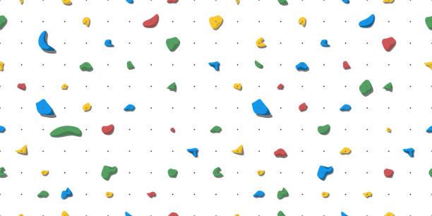 ilustrações, clipart, desenhos animados e ícones de porões para escalada em rocha - escalada em rocha