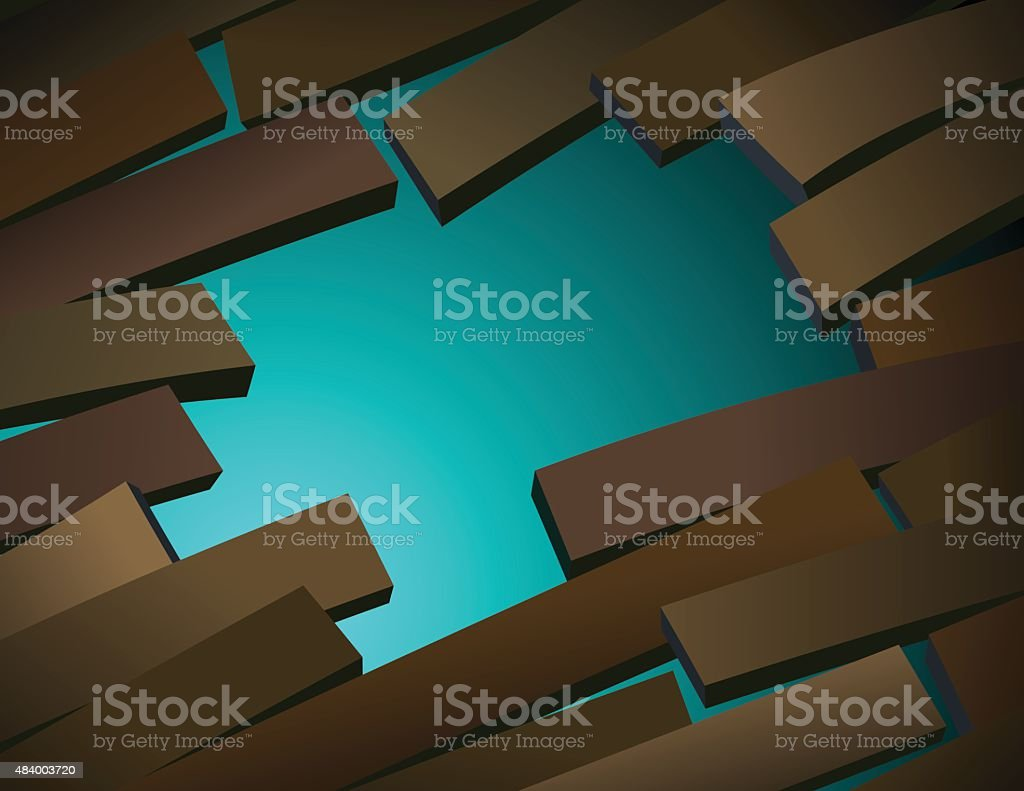 Hole in the floor royalty-free hole in the floor stock vector art & more images of 2015