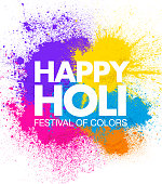 Holi Festival of Colors Celebrations Poster layouts