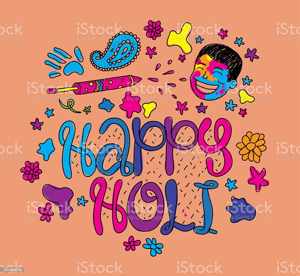 Festival greeting card choice image greeting card examples holi festival greeting card hand drawn illustartion stock vector holi festival greeting card hand drawn illustartion kristyandbryce Image collections