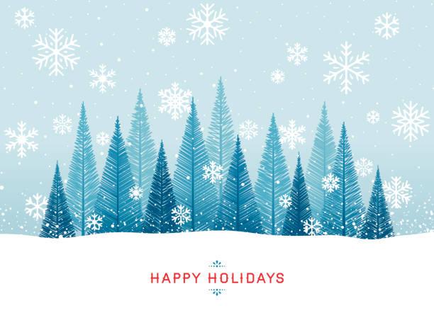bildbanksillustrationer, clip art samt tecknat material och ikoner med holiday bakgrund - christmas card