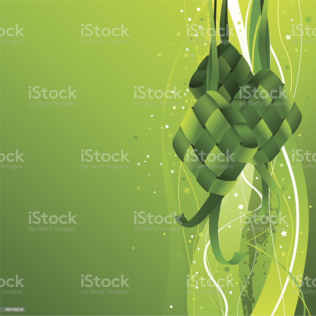 Hari Raya Background Stock Vector Art More Images Of Asia