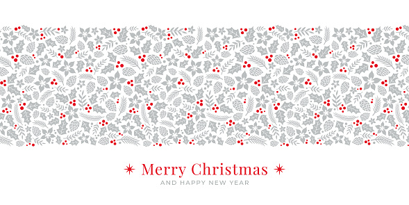 Holiday Background with Christmas Greetings. Stock illustration