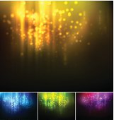 Vector illustration Holiday blurred light background. EPS10. Contains transparensy.