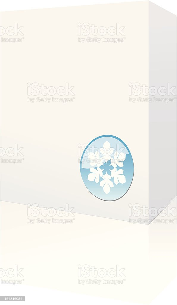 holiday box royalty-free stock vector art