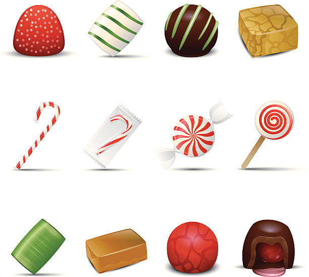 Holiday Candy Icons http://www.cumulocreative.com/istock/File Types.jpg gum drop stock illustrations