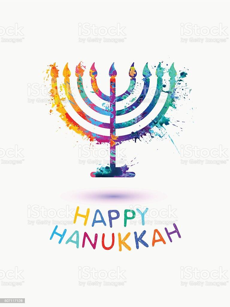 Holiday card happy hanukkah stock vector art more images of badge holiday card happy hanukkah royalty free holiday card happy hanukkah stock vector m4hsunfo