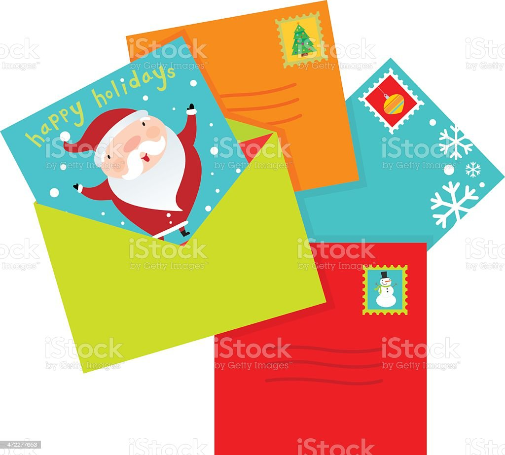 Holiday Cards royalty-free holiday cards stock vector art & more images of celebration