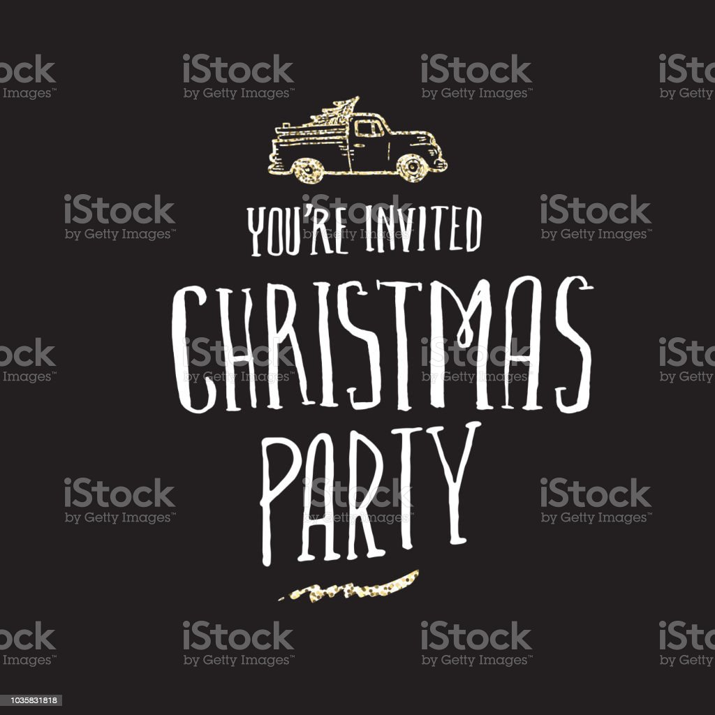 Holiday celebration party hand drawn hand lettered glitter greeting design royalty-free holiday celebration party hand drawn hand lettered glitter greeting design stock vector art & more images of canada