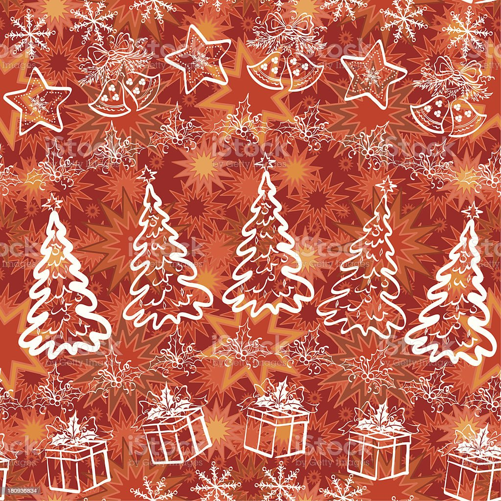 Holiday Christmas background royalty-free stock vector art