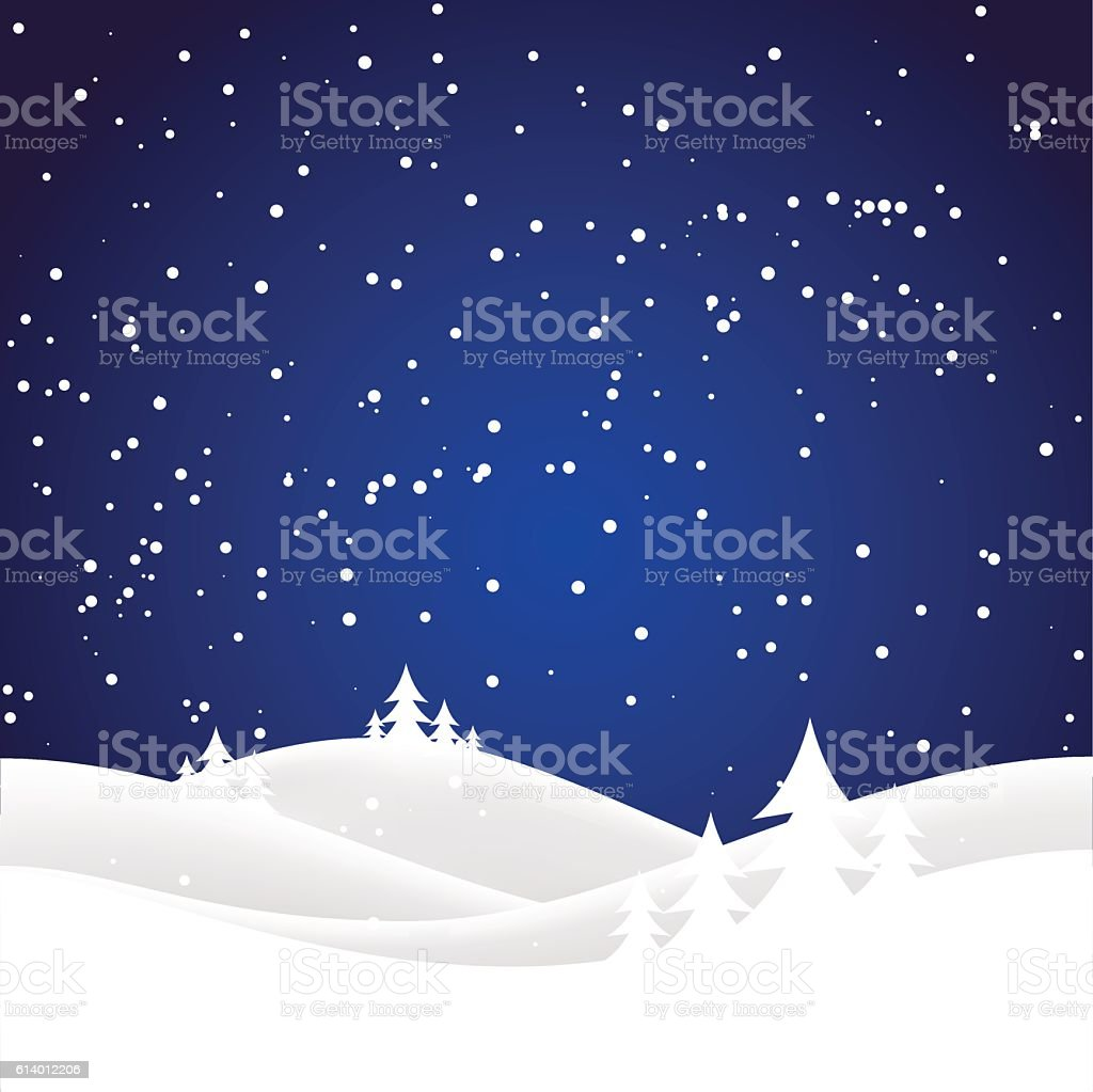 Holiday christmas background vector art illustration