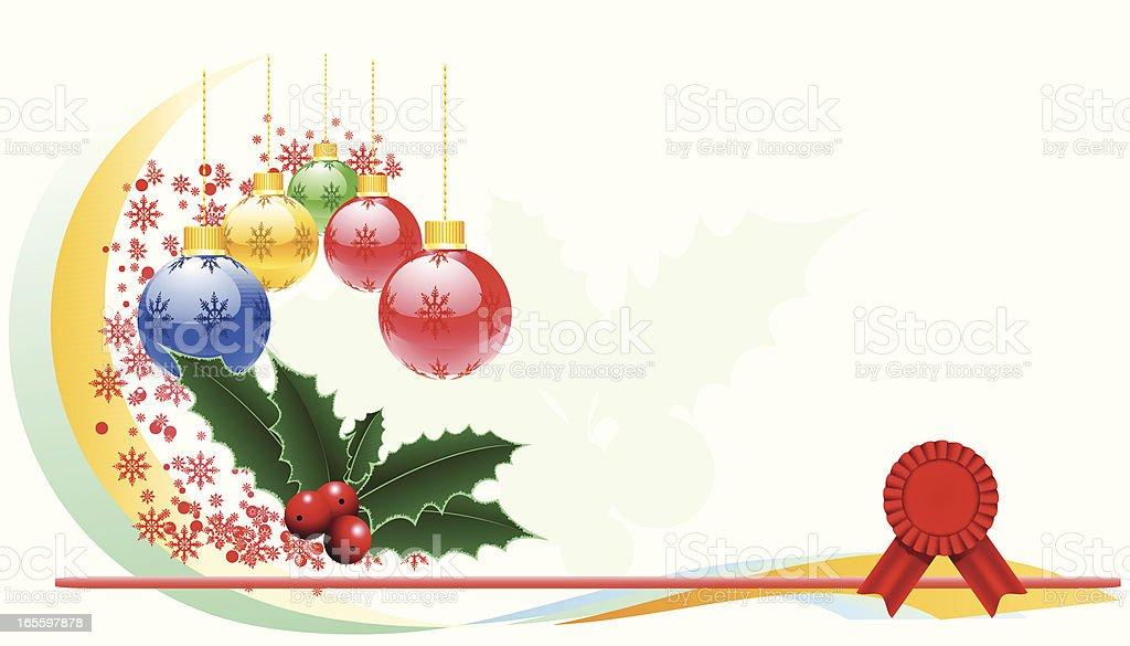 Decoración para los días festivos-VECTOR ilustración de decoración para los días festivosvector y más banco de imágenes de abstracto libre de derechos