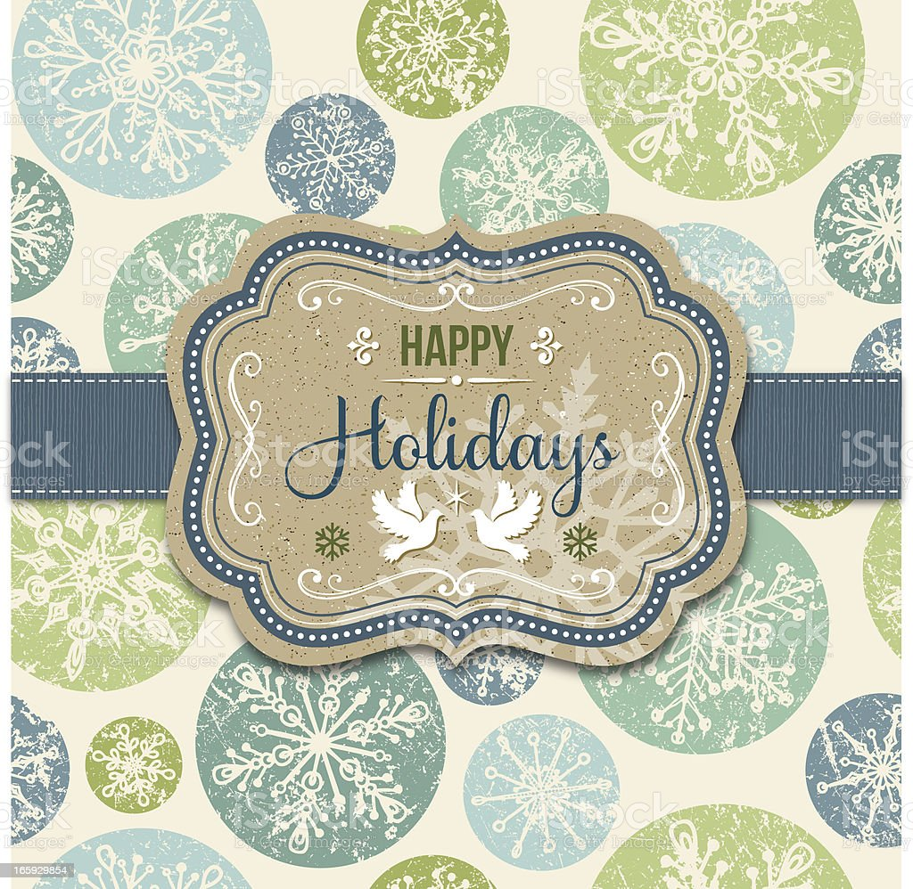Holiday Frame royalty-free holiday frame stock vector art & more images of backgrounds