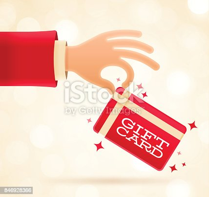istock Holiday Gift Card 846928366