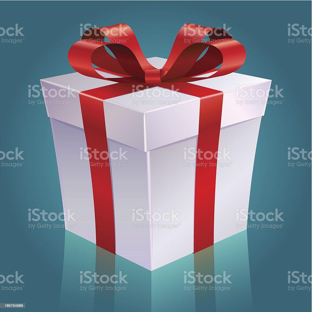 Holiday Giftbox royalty-free stock vector art