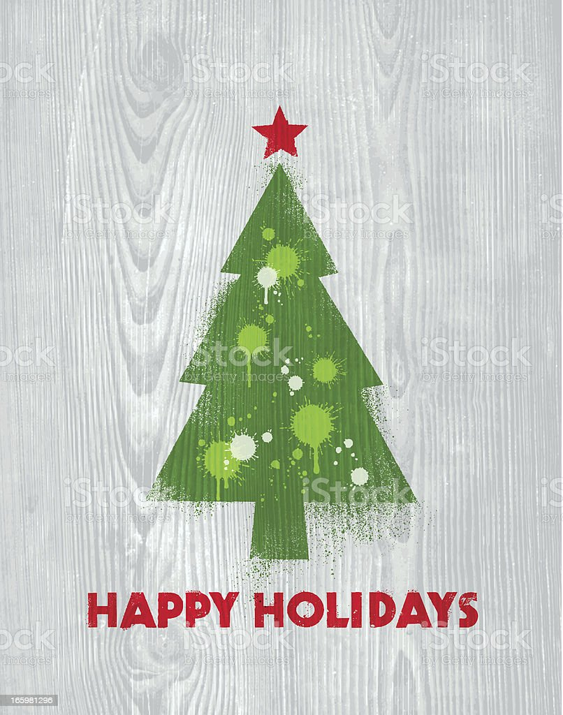 Holiday Graffiti Card royalty-free holiday graffiti card stock vector art & more images of celebration event