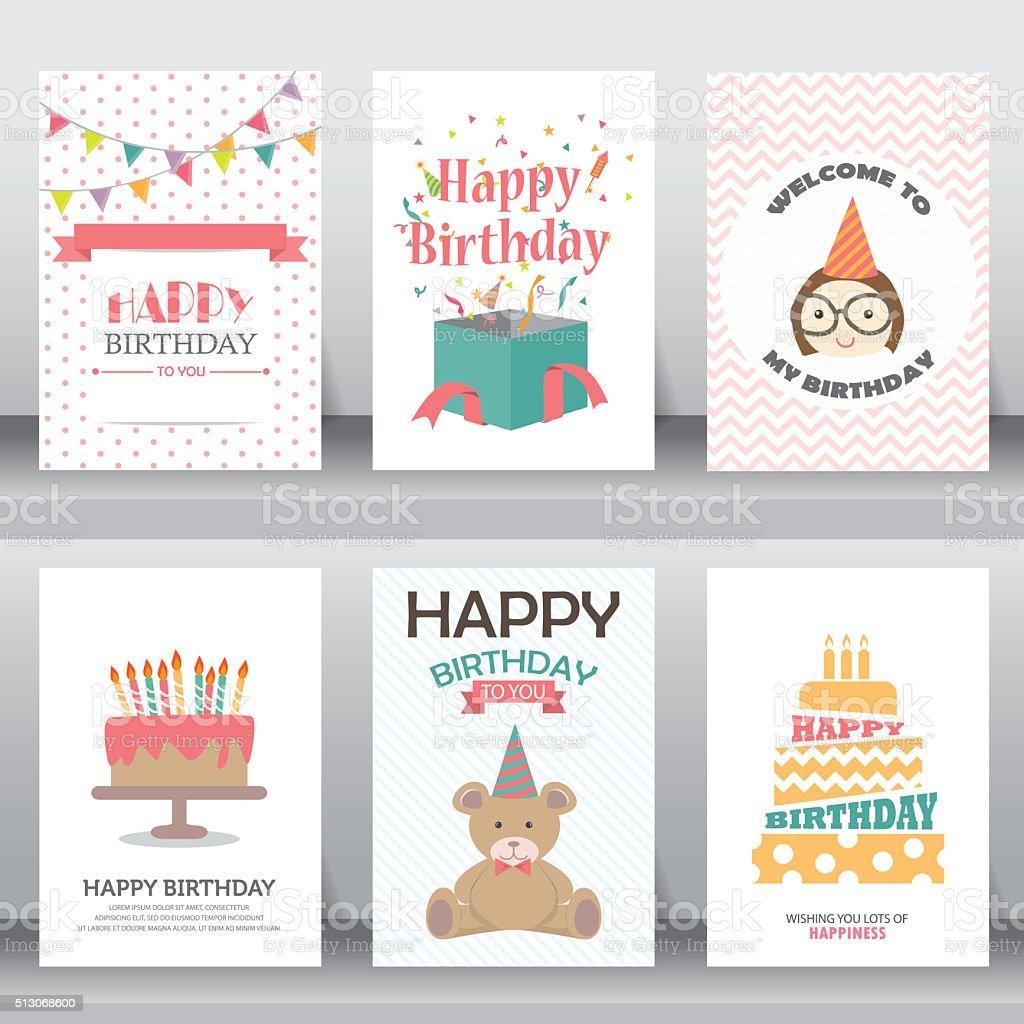 holiday greeting and invitation card. vector art illustration