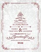 Christmas Greeting Card. EPS 10.