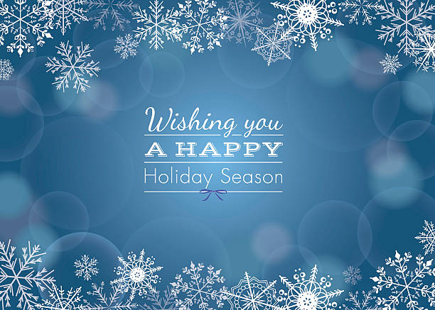 holiday greeting - holiday stock illustrations, clip art, cartoons, & icons