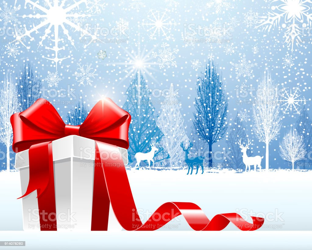 Holiday Begrüßung – Vektorgrafik