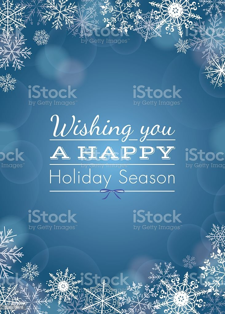 Holiday greeting - vector - Royalty-free Abstract vectorkunst