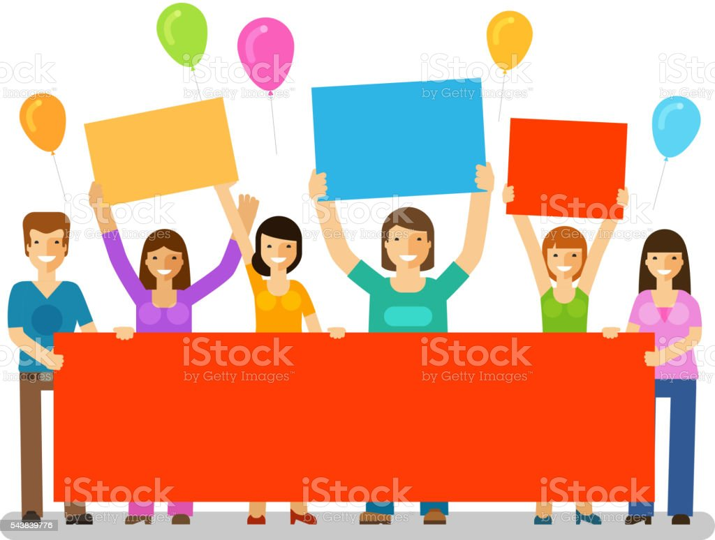 Holiday. Happy birthday. Corporate party, celebration or festival vector icon vector art illustration