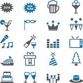 Holiday icon set