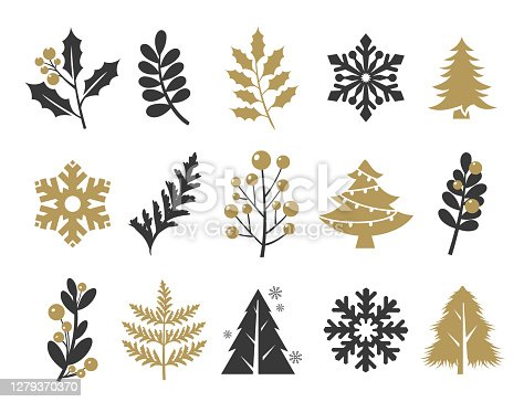 Vector illustration of the holiday icons set.