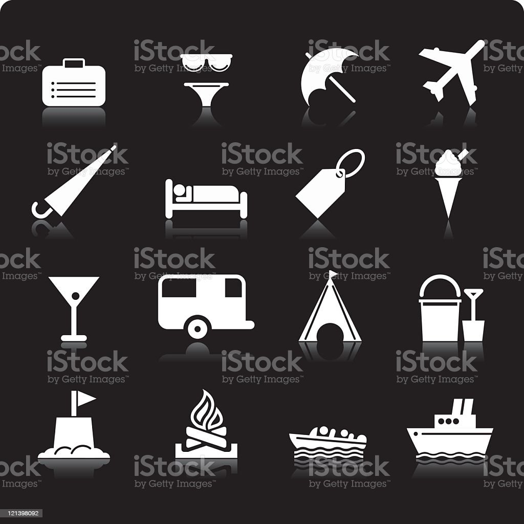 Holiday icons royalty-free holiday icons stock vector art & more images of bikini