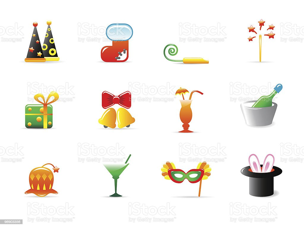 holiday icons royalty-free holiday icons stock vector art & more images of alcohol
