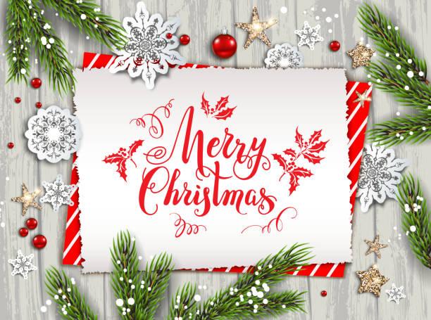 bildbanksillustrationer, clip art samt tecknat material och ikoner med holiday natur kort jul - christmas card