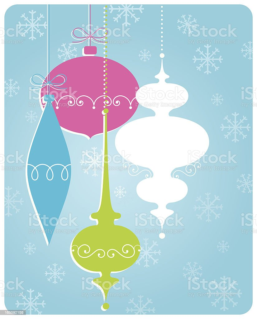 Holiday Ornaments royalty-free holiday ornaments stock vector art & more images of backgrounds