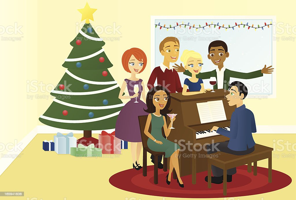 Holiday Party royalty-free holiday party stock vector art & more images of adult