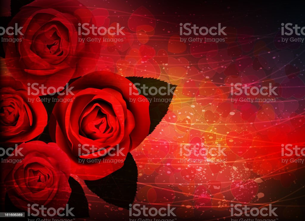 Holiday roses bouquet royalty-free holiday roses bouquet stock vector art & more images of arrangement