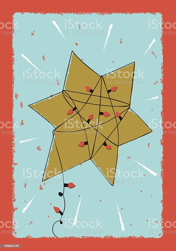 Holiday Star royalty-free stock vector art