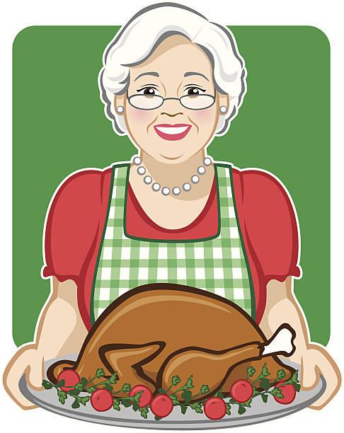 Holiday Turkey vector art illustration