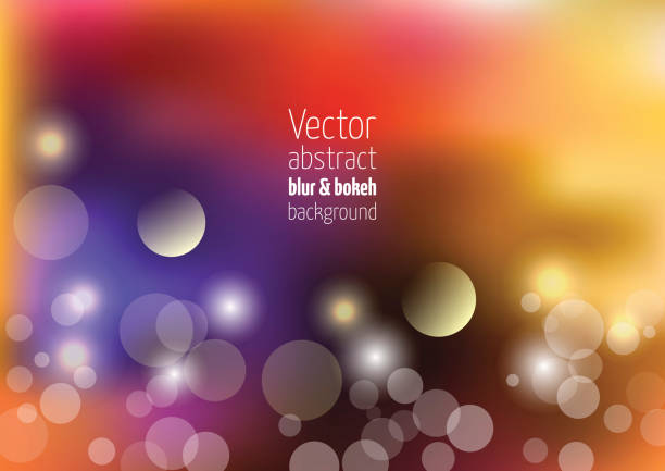 Holiday vector colorful background with colorful bokeh, light leaks and defocused lights. Holiday vector colorful background with colorful bokeh, light leaks and defocused lights. light leak stock illustrations