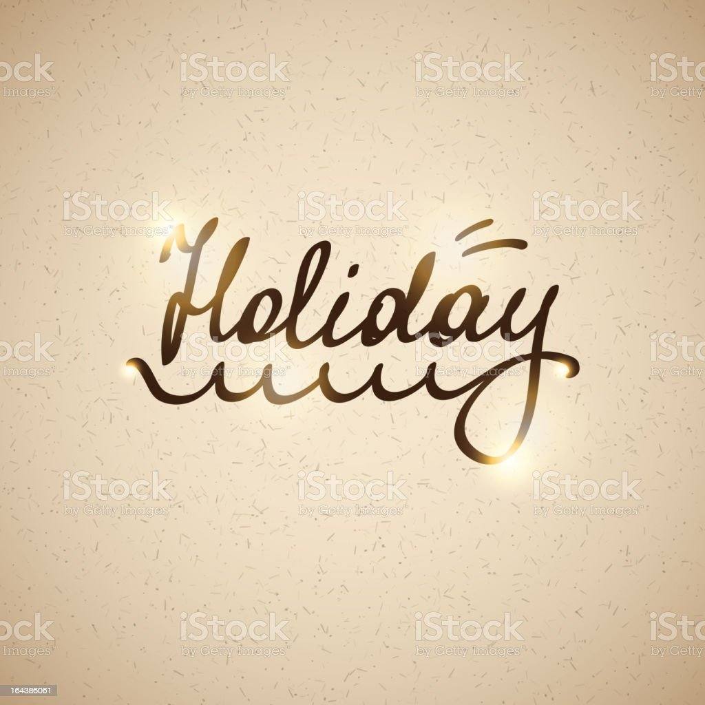 holiday, vector eps 10 royalty-free stock vector art